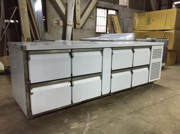 抽屜式臥式冷藏櫃 7