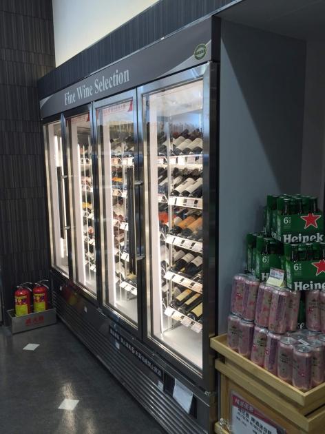 紅酒展示保存櫃 2